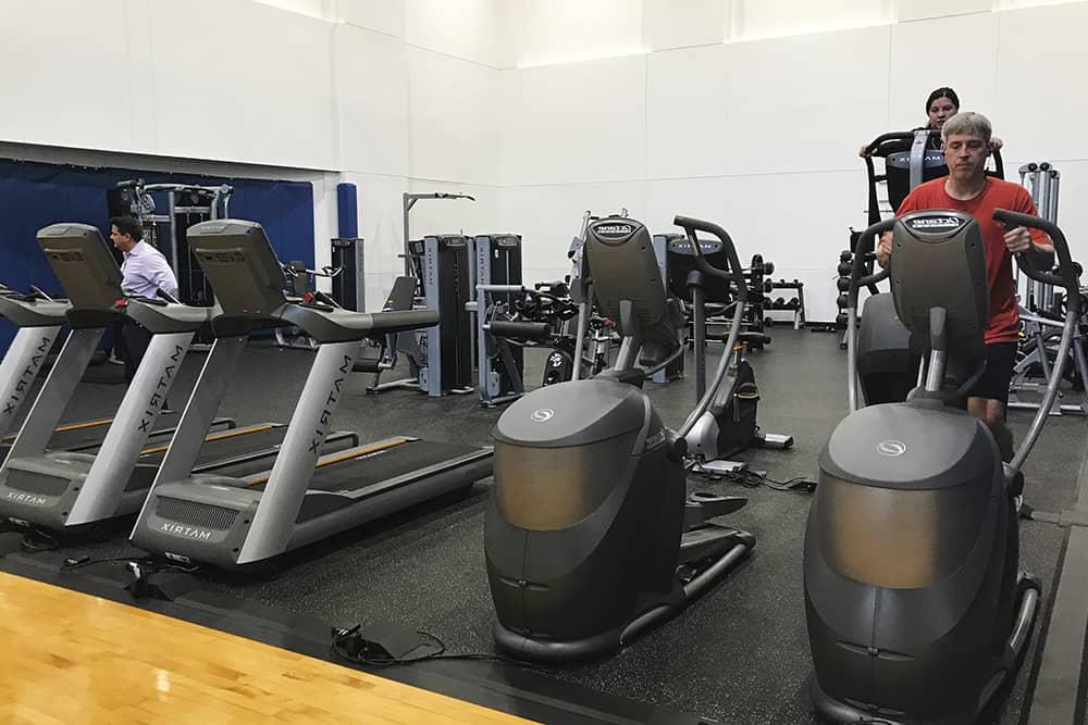 普林斯顿Place-fitness-center