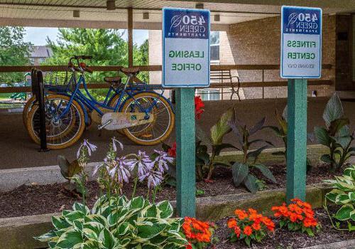 宾夕法尼亚州诺里斯敦450套格林bbin的居民停车位