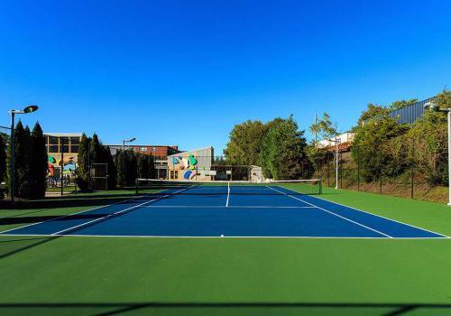 在帕克公园的昂科雷斯有一个户外网球场出租bbin