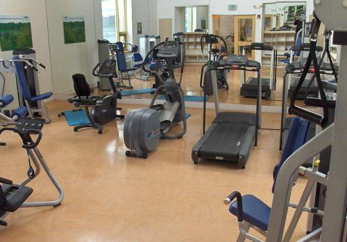 健身中心配有运动器材,在派克公园的Gateway Towersbbin出租